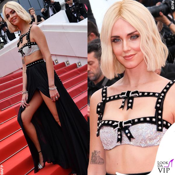 Chiara Ferragni Cannes 2019 outfit Philosophy gioielli Pomellato 4
