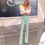 Diletta Leotta outfit Elisabetta Franchi