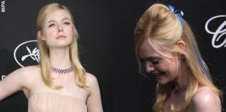 Elle Fanning Cannes 2019 abito Prada