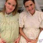 Fiammetta Cicogna completo Bianca Balti Maternity borsa Chanel 3