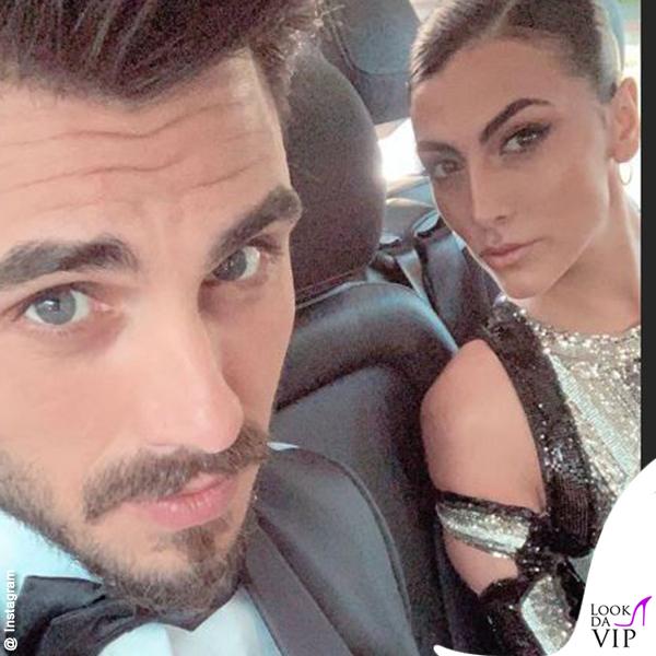 Giulia Salemi Cannes amFar abito Balmain scarpe Zanotti Francesco Monte outfit Carlo Pignatelli 1