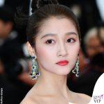 Guan Xiaotong Cannes 2019 orecchini Chopard