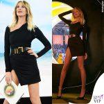 Isola ottava puntata Alessia Marcuzzi outfit Versace 2