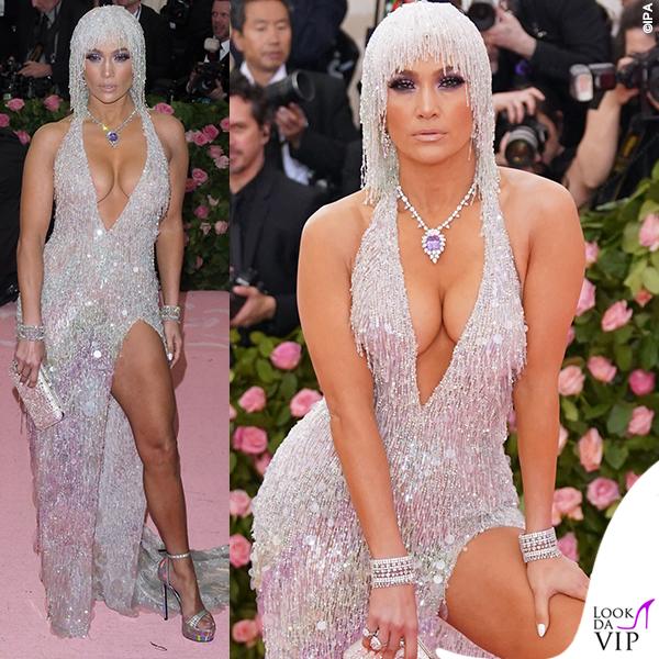 Jennifer Lopez MET 2019 outfit Versace