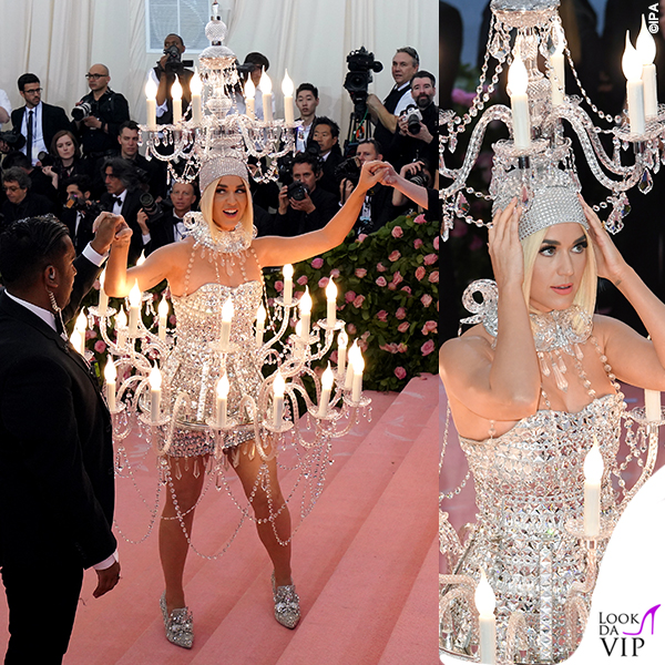 Katy Perry MET 2019 outfit Moschino