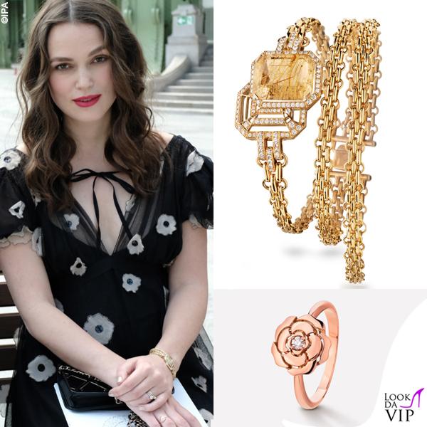 Keira Knightley incinta James Righton outfit Chanel 6