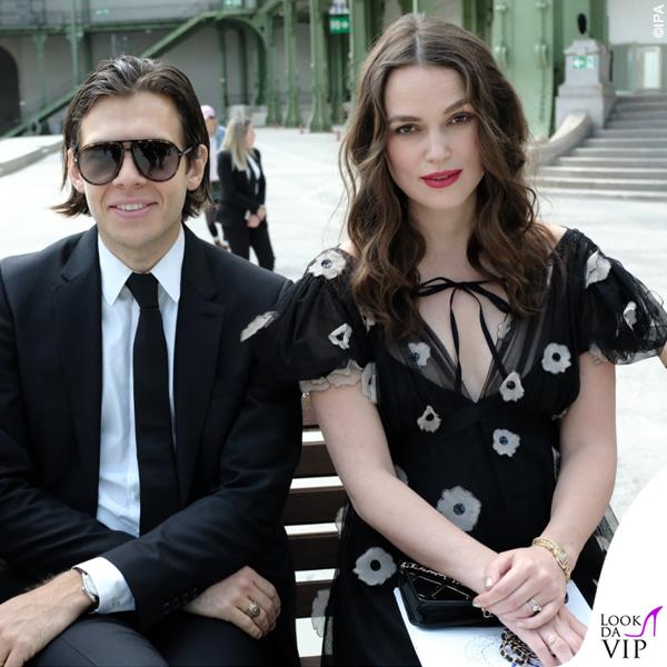 Keira Knightley incinta James Righton outfit Chanel