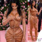Kim Kardashian MET2019 outfit vintage Thierry Mugler 2