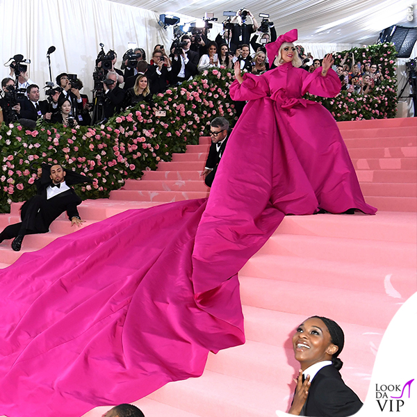 Lady Gaga MET 2019 outfit Brandon Maxwell 1