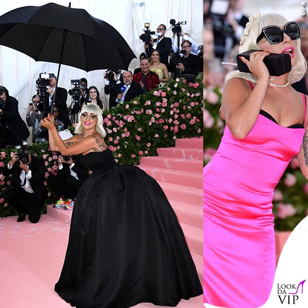 Lady Gaga MET 2019 outfit Brandon Maxwell 2