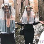 Lorella Boccia addio al nubilato matrimonio Boccia Presta