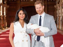 Meghan Markle Harry Baby Sussex collana Jennifer Meyer copertina G H Hunt