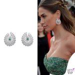 Melissa Satta Cannes 2019 abito Etro gioielli Chopard