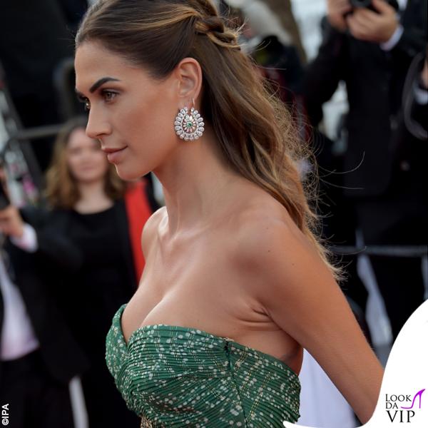 Melissa Satta abito Etro gioielli Chopard sandali Manolo Blahnik 4