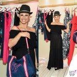 Michelle Hunziker beachwear Aldi 2
