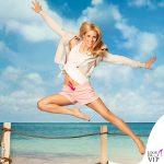 Michelle Hunziker beachwear Aldi 3