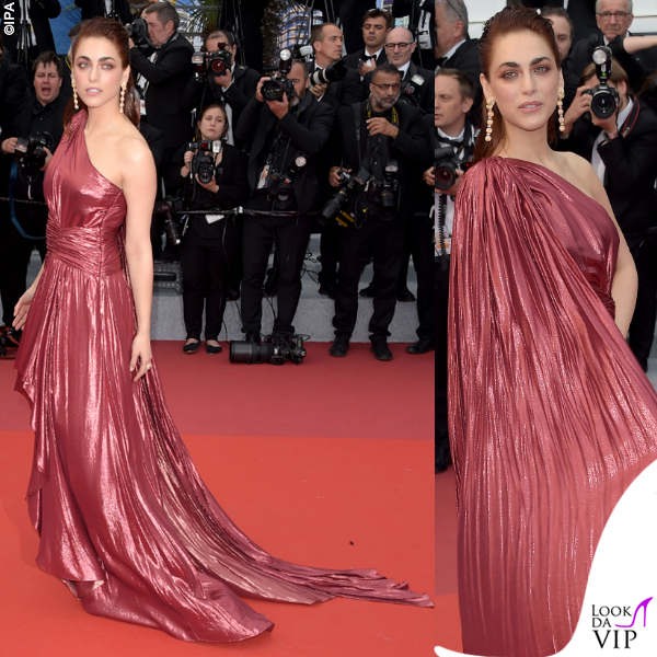 Miriam Leone Cannes 2019 abito Gucci 5