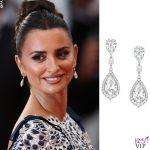 Penelope Cruz Cannes 2019 abito Chanel orecchini Atelier Swarovski