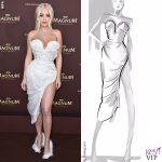 Rita Ora Cannes 2019 abito Vivienne Westwood