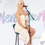 Rita Ora Cannes 2019 gioielli Chopard abito Vivienne Westwood scarpe Gina 4