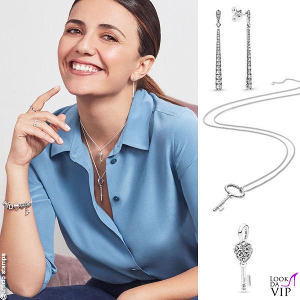 Serena Rossi gioielli Pandora 3