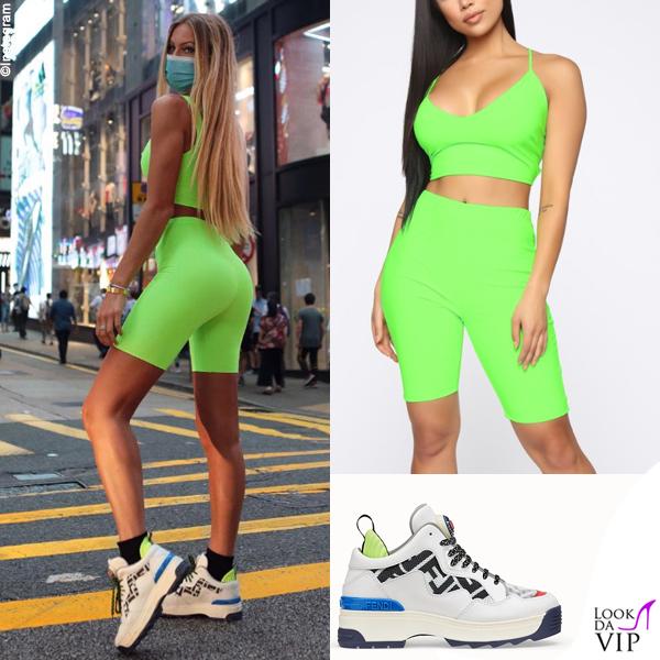 Taylor Mega completo Fashion Nova sneakers Fendi