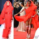 Winnie Harlow Cannes 2019 abito Jean Paul Gaultier 5