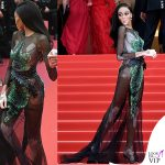 Winnie Harlow Cannes 2019 abito Ralph and Russo 5