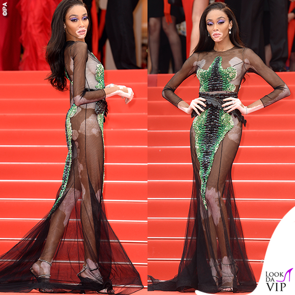 Winnie Harlow Cannes 2019 abito Ralph and Russo 7