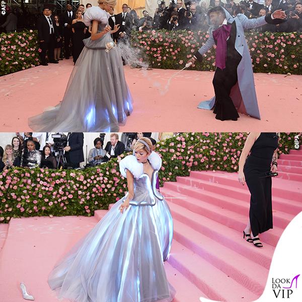 Zendaya MET 2019 outfit Tommy Hilfiger 1