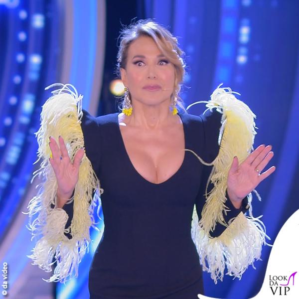 Barbara d'Urso GF 2 puntata abito Stefano De Lellis 8