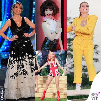 Barbara d'Urso GF finale outfit