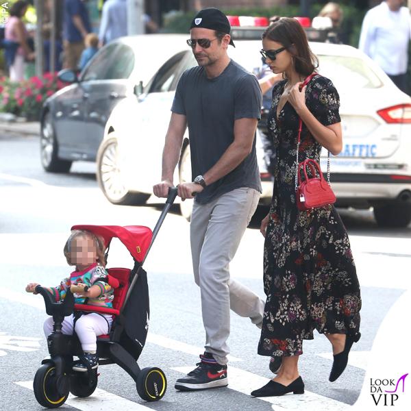 Bradley-Lea-Cooper-Irina-Shayk-maglione-Gucci-borsa-Kooples-sneakers-Nike-abito-Saloni-scarpe-The-Row