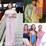 Cecilia Rodriguez top e pantaloni Zara