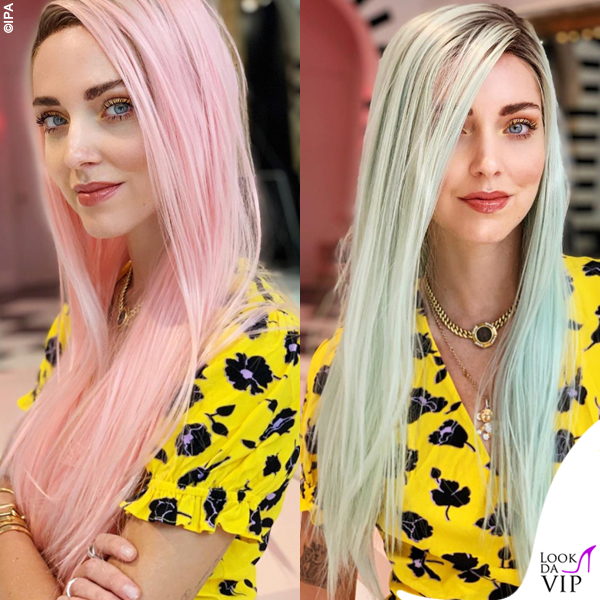 Chiara Ferragni parrucca