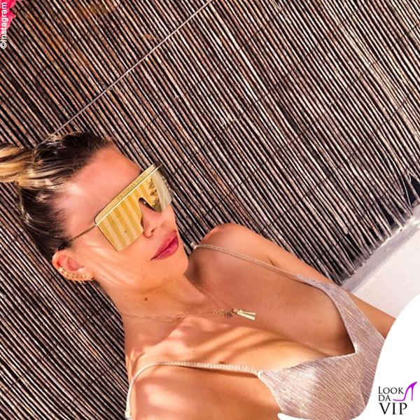 Costanza Caracciolo occhiali Victoria's Secret