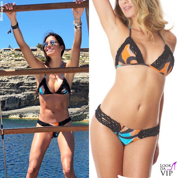 Elisabetta Gregoraci bikini Miss Bikini