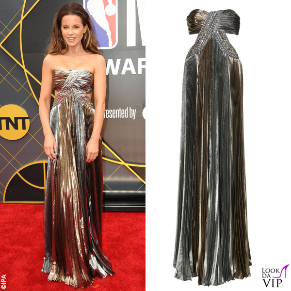 premium selection e696e 5949d Kate Beckinsale abito Alberta Ferretti 2 - Look da Vip