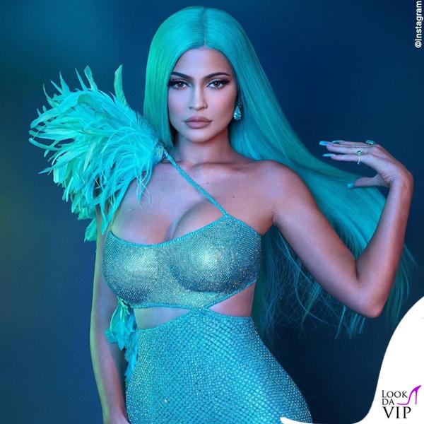 Kylie Jenner parrucca