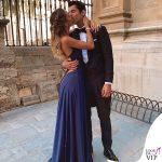 Matrimonio Sergio Ramos Alice Campello e Alvaro Morata abito Nadine Merabi