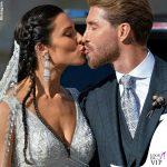 Matrimonio Sergio Ramos e Pilar Rubio abito Zuhair Murad 2