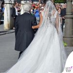 Matrimonio Sergio Ramos e Pilar Rubio abito Zuhair Murad 3