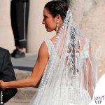 Matrimonio Sergio Ramos e Pilar Rubio abito Zuhair Murad 8