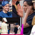 Meghan Markle Trooping the Colour outfit Givenchy cappello Noel Stewart 10