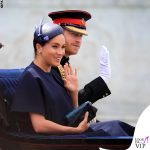 Meghan Markle Trooping the Colour outfit Givenchy cappello Noel Stewart 3
