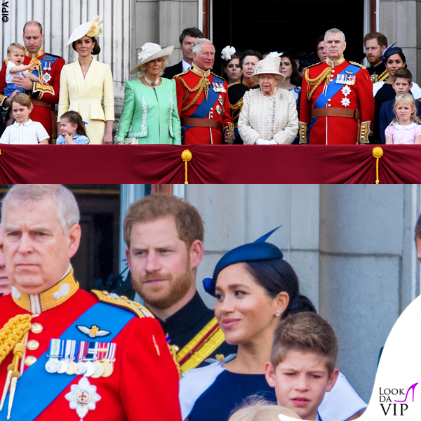 Meghan Markle Trooping the Colour outfit Givenchy cappello Noel Stewart 4