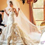 Melania Trump nozze abito da sposa Christian Dior 4