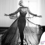 Monica Bellucci Soon Magazine fotografo Patrice van Malder abito Valentino gioielli Cartier