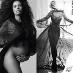 Monica Bellucci Soon Magazine fotografo Patrice van Malder abito Valentino gioielli Cartier Tina Kunakey