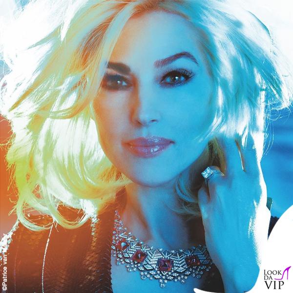 Monica Bellucci Soon Magazine fotografo Patrice van Malder trench Azzedine Alaia gioielli Cartier